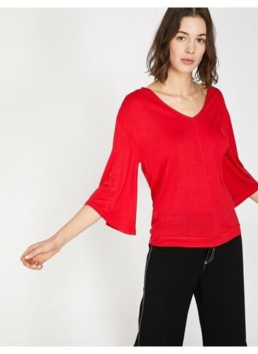 Koton Tişört Kırmızı
